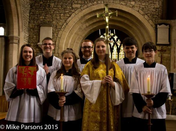 Easter Day 2015 Altar Servers' Team