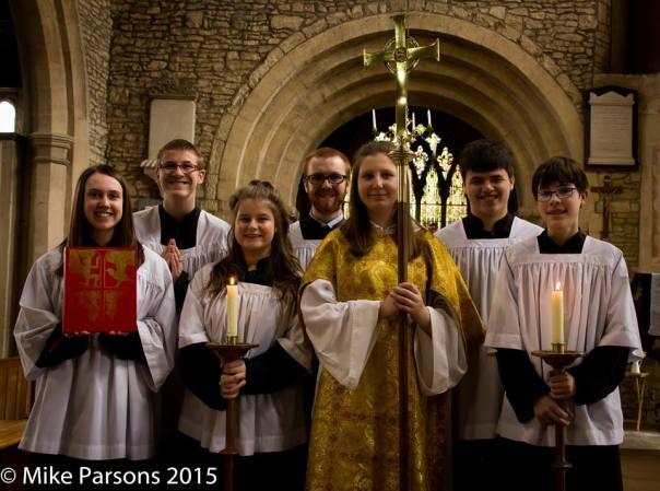 Easter Day 2015 Altar Servers' Team