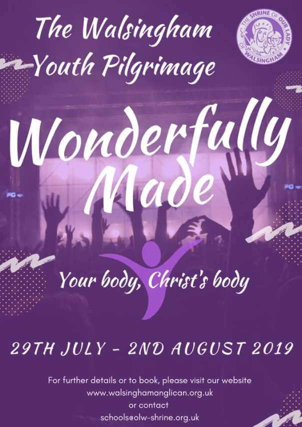 walsingham youth pilgrimage 2019