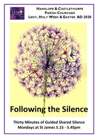 Following the Silence Lent 2020