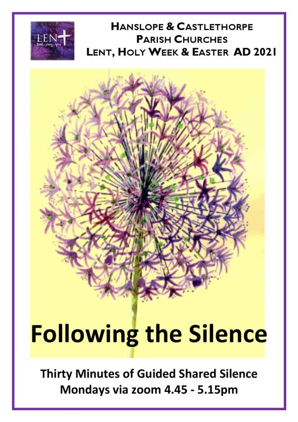 Following the Silence Lent 2021
