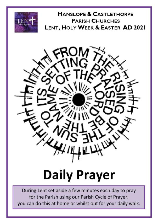 Lent Daily Offices 202