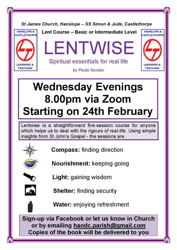 Lentwise Poster 2021