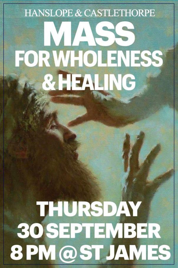 Heal;ing Mass Sept 2021